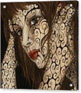 Jezebel Acrylic Print by Tina Blondell