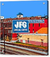 Jfg Coffee Acrylic Print by Steven  Michael