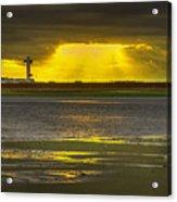 J.f.k. Control Tower Acrylic Print