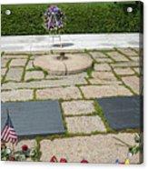 Jfk Eternal Flame Memorial Acrylic Print
