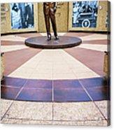 Jfk Tribute Fort Worth Acrylic Print