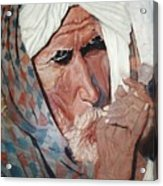 Jhagru Ram's Chillum Acrylic Print