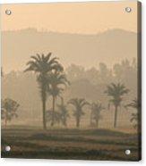 Jharkhand Early Morning Acrylic Print