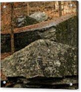 Jigsaw Rocks Acrylic Print