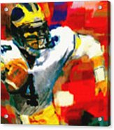Jim Harbaugh  I Guarantee Acrylic Print