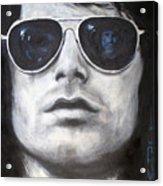Jim Morrison III Acrylic Print