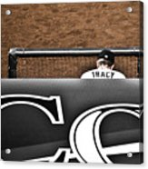 Jim Tracy Rockies Manager Acrylic Print by Marilyn Hunt