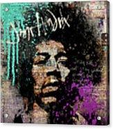 Jimi #3 Acrylic Print