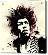 Jimi Acrylic Print by Laurence Adamson