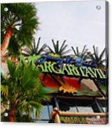 Jimmy Buffets Margaritaville In Las Vegas Acrylic Print by Susanne Van Hulst