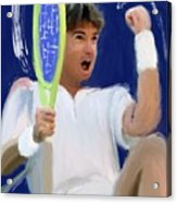 Jimmy Connors Acrylic Print