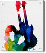 Jimmy Watercolor Acrylic Print