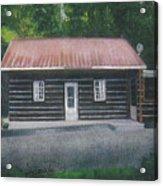 Jims Cabin Acrylic Print