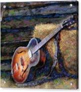 Jim's Guitar Acrylic Print