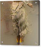 Pow Wow Jingle Dancer 9 Acrylic Print