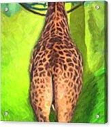 Jirafa Acrylic Print