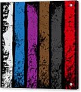Jiu Jitsu Design United Belts Of Jiu Jitsu Vertical Light Martial Arts Acrylic Print