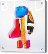 Jive Bird Acrylic Print