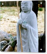 Jizo Bodhisattva - Children's Protector Acrylic Print