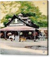Jo-anne's Market Acrylic Print