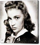 Joan Leslie, Vintage Actress Acrylic Print