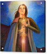 Joan Of Arc  Acrylic Print