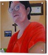 Joan Of Smart Acrylic Print