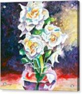 Joan's Gardenias Acrylic Print