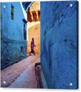 Jodhpur Colors Acrylic Print