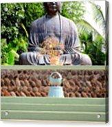 Jodo Mission Lahaina 9 Acrylic Print