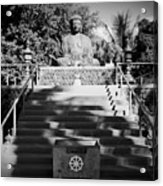 Jodo Shu Mission Lahaina Maui Acrylic Print
