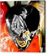 Joe Bonamassa Blues Guitar Art Acrylic Print