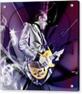 Joe Bonamassa Blues Guitarist Art Acrylic Print