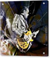 Joe Bonamassa Blues Guitarist Acrylic Print