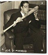 Joe Dimaggio (1914-1999) Acrylic Print