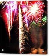 Joe's Fireworks Party 1 Acrylic Print