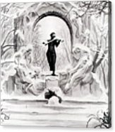 Johann Strauss  Acrylic Print