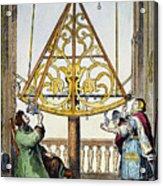 Johannes Hevelius Acrylic Print