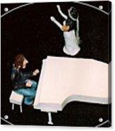 John And Yoko Soul Searching Acrylic Print