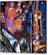 John Coltrane Live Acrylic Print