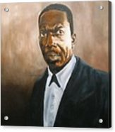 John Coltrane Acrylic Print