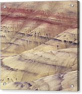 John Day Fossil Beds Acrylic Print by Greg Vaughn - Printscapes