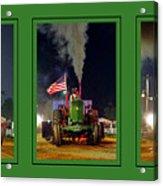 John Deere Tractor Pull Poster Acrylic Print