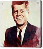 John F. Kennedy Acrylic Print
