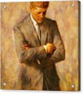 John Fitzgerald Kennedy Acrylic Print
