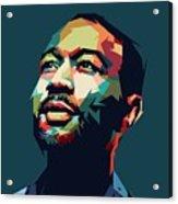 John Legend Acrylic Print