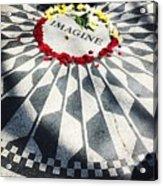 John Lennon- Imagine Acrylic Print