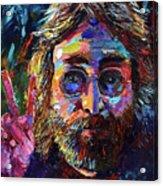 John Lennon Peace Acrylic Print