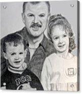John Megan And Joey Acrylic Print