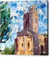 John Piper's Jewel - Sunningwell Church Acrylic Print